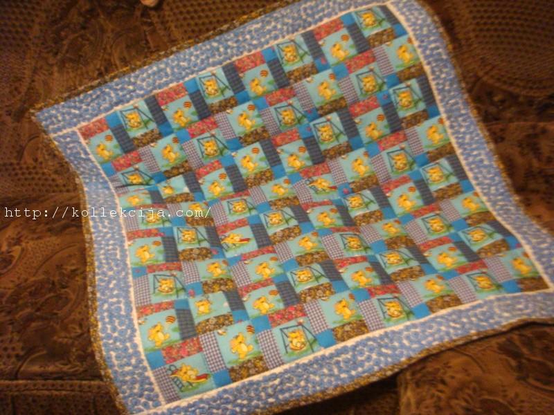 Лоскутное одеяло своими руками схема
