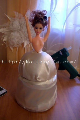 Кукла шкатулка из майонезного ведра мастер класс с пошаговым