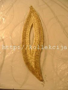 Панно из джутовых ниток