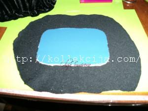Шкатулка из бросовых материалов