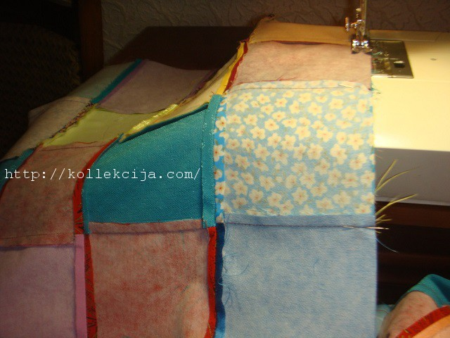 Как сшить одеяло из квадратиков своими руками 4