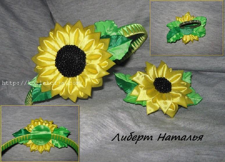 Цветы из лент изготовление цветов из ткани своими руками мастер класс
