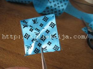 Канзаши - лепесток конвертик