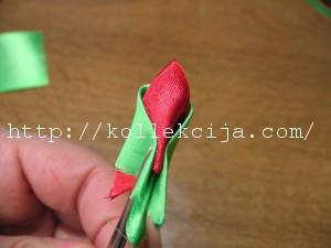 Лепесток тюльпан канзаши