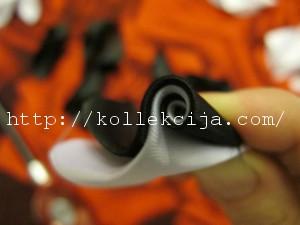Спиральный лепесток из лент