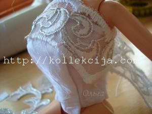 Свадебное платье для Барби
