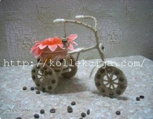 Велосипед из шпагата