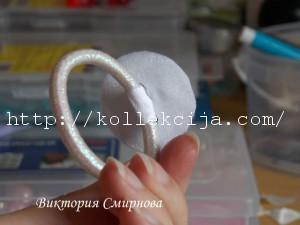 Как сделать бантик из атласной ленты