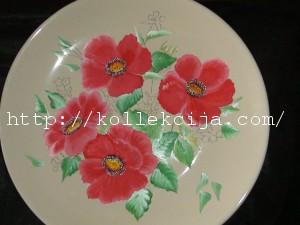 Роспись тарелки