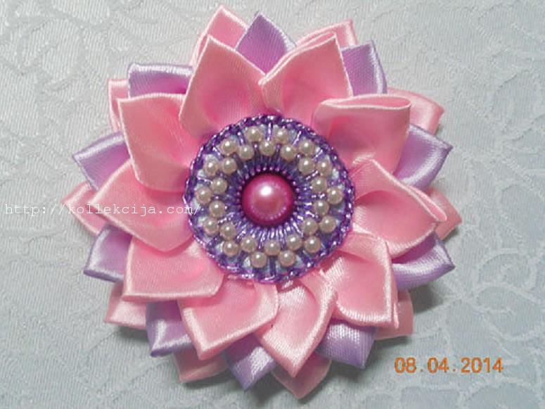 Как сделать серединку для цветов канзаши