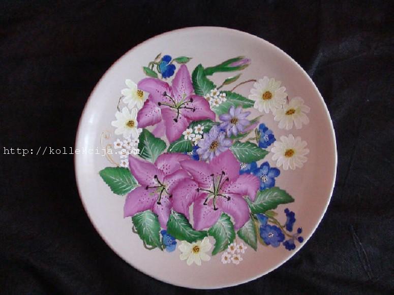 Роспись на тарелке своими руками