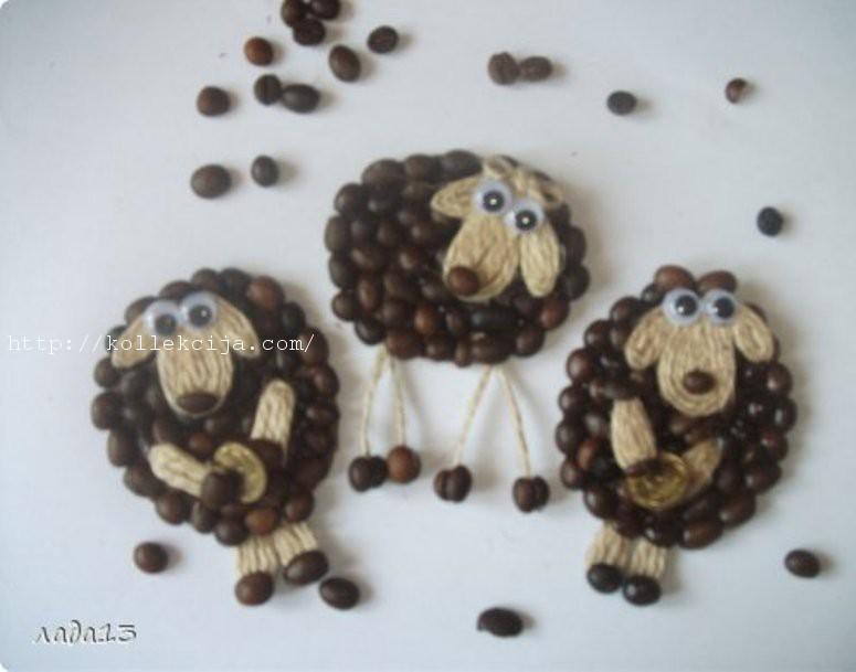 Как сделать овечек из ватных палочек своими