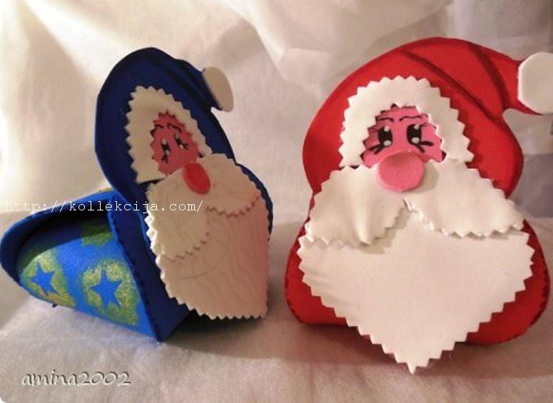 Сувениры из фоамирана своими руками на новый год