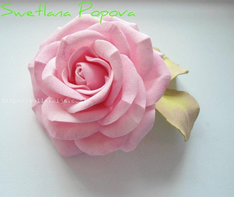 Как сделать из листьев розу фото 245