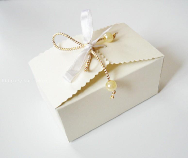 Подарочная коробка мастер класс