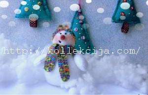 """Помощник деда Мороза """"Снеговик"""""""