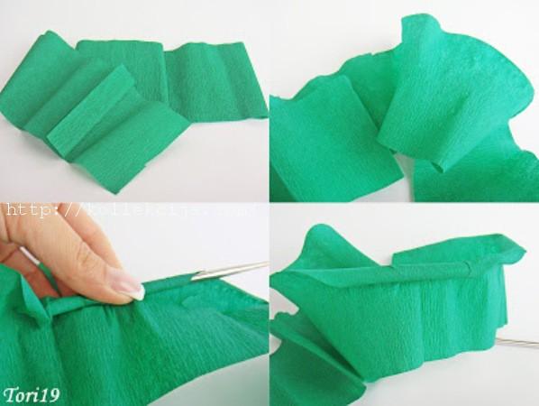 Как обернуть букет гофрированной бумагой своими руками фото 87