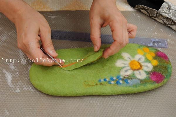 Валяние тапочек своими руками - Pizza e Birra