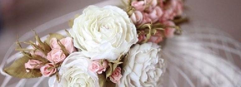 Венок из роз из фоамирана