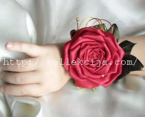roza kanzashy