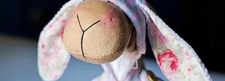 Текстильная овечка