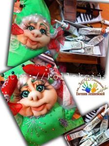 Кукла Елка