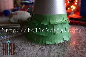 Как сделать елочку из бумаги