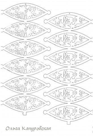 Елочные шары из бумаги своими руками шаблоны