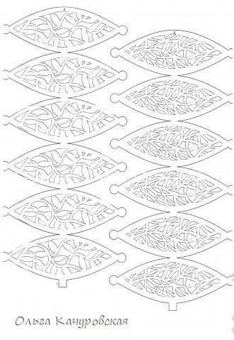 Ажурные шары из бумаги своими руками схемы