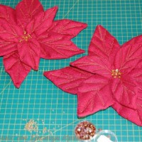 Рождественский цветок пуансеттия