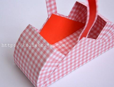 Корзинка для упаковки своими руками
