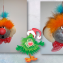 Елочная игрушка Клоун
