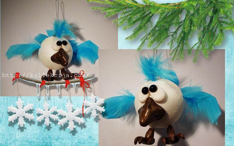 Поделки игрушки на новый год 2015 своими руками самое интересное в блогах