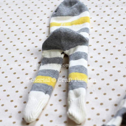 Обезьянка из носков своими руками фото