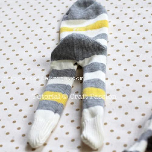 Обезьянки своими руками из носка