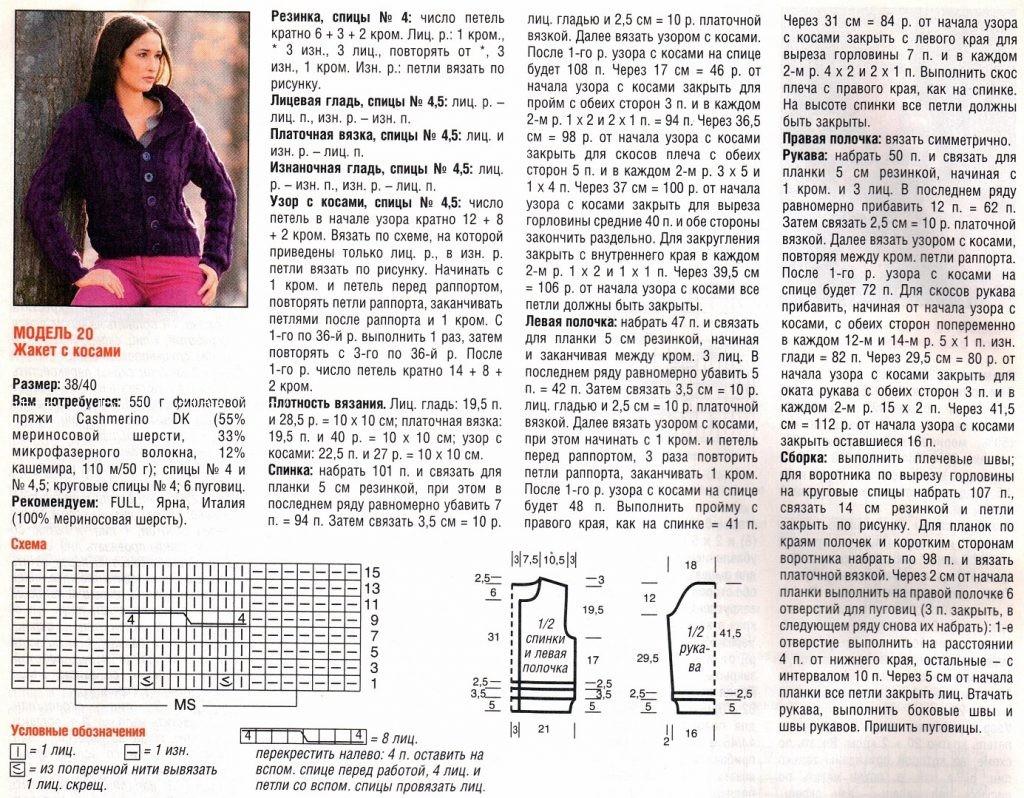 Схемы вязания из мериносовой шерсти