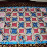 Легкое лоскутное одеяло