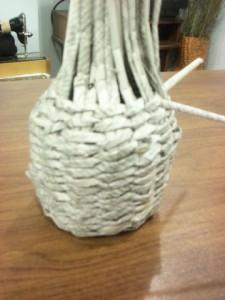 Плетение из газет мастер-класс