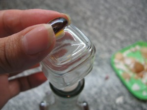 мастер-класс декор бутылки