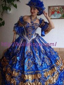 Платье королевы своими руками