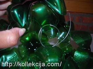 Шар из пластиковых бутылок