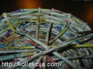 Плетение из газет и журналов