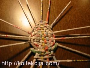 Мастер-класс плетение из газет