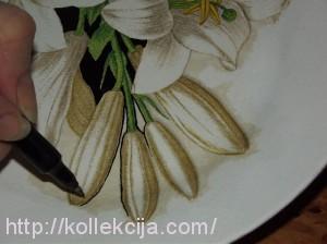 Декупаж тарелок для начинающих
