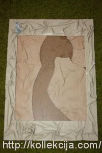 Объемные картины из кожи