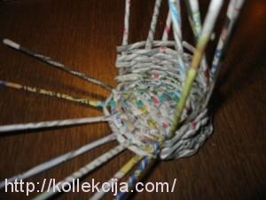 Плетение из газет для новичков