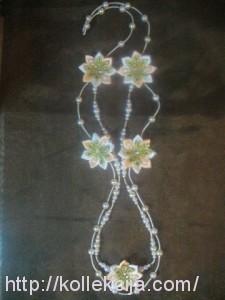 Канзаши ожерелье