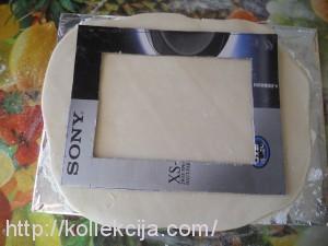 Фоторамка из соленого теста