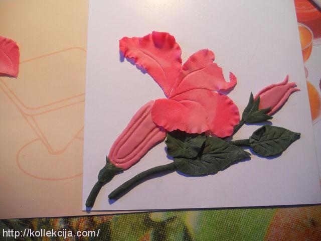 Рождественские открытки, из мастики открытки