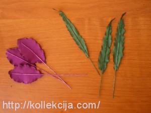 Цветок ириса из ткани
